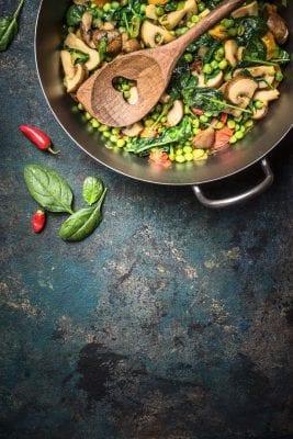 pfanne-mit-Gemüse